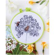 Набор для вышивания АБРИС АНМ-049 «Пчелки» 15*15 см