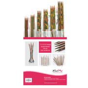 Набор чулочных спиц Knit Pro 20631 «Simfonie» дерево 6 видов