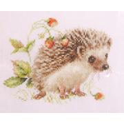 Набор для вышивания Алиса 0-227 «Ежик и земляника» 12*16 см