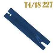 Молния Т4 спираль брючн. п/авт. 18 см 227 син.