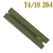 Молния Т4 спираль брючн. п/авт. 18 см 264 хаки