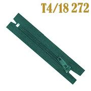 Молния Т4 спираль брючн. п/авт. 18 см 272 зел.