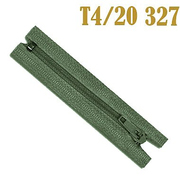 Молния Т4 спираль брючн. п/авт. 20 см 327 хаки