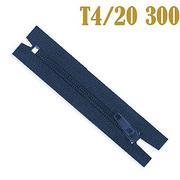 Молния Т4 спираль брючн. п/авт. 20 см 330 т.-син.