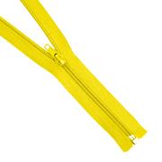Молния Т5 разъемн. спираль 40 см №110 жёлт.