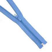 Молния Т5 разъемн. спираль 40 см №178К голуб.