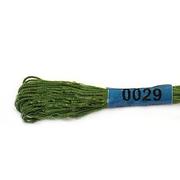 Мулине х/б 8 м Гамма, 0029 т.-салатовый