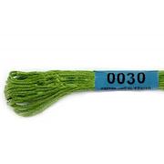 Мулине х/б 8 м Гамма, 0030 т.-салатовый