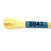 Мулине х/б 8 м Гамма, 0043 св.-желтый