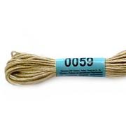 Мулине х/б 8 м Гамма, 0059 св. хаки