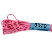 Мулине х/б 8 м Гамма, 0070 розовый