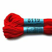 Мулине х/б 8 м Гамма, 0119 красный