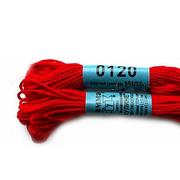 Мулине х/б 8 м Гамма, 0120 т.-красный
