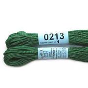 Мулине х/б 8 м Гамма, 0213 темно-зеленый