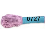 Мулине х/б 8 м Гамма, 0727 св.-фиолетовый