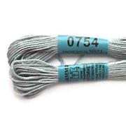 Мулине х/б 8 м Гамма, 0754 серо-голубой