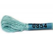 Мулине х/б 8 м Гамма, 0854 голубой