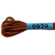Мулине х/б 8 м Гамма, 0929 коричневый