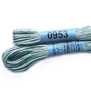 Мулине х/б 8 м Гамма, 0953 серо-зеленый