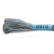 Мулине х/б 8 м Гамма, 0970 серый