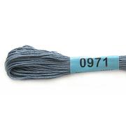 Мулине х/б 8 м Гамма, 0971 т.-серый