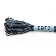 Мулине х/б 8 м Гамма, 0972 т.-серый