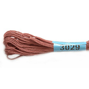 Мулине х/б 8 м Гамма, 3029 роз.-коричневый