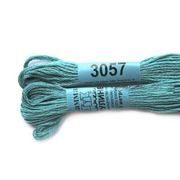 Мулине х/б 8 м Гамма, 3057 т.-голубой
