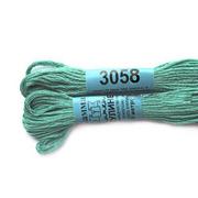 Мулине х/б 8 м Гамма, 3058 св.-зеленый