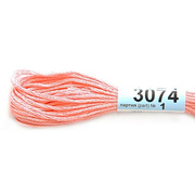 Мулине х/б 8 м Гамма, 3074 св.-розовый