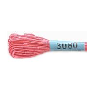 Мулине х/б 8 м Гамма, 3080 розовый