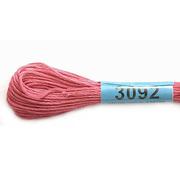 Мулине х/б 8 м Гамма, 3092 розовый