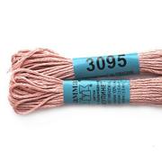 Мулине х/б 8 м Гамма, 3095 св. розово-коричневый