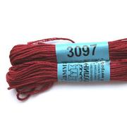 Мулине х/б 8 м Гамма, 3097 грязно-бордовый