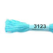 Мулине х/б 8 м Гамма, 3123 св. бирюза