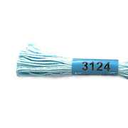 Мулине х/б 8 м Гамма, 3124 св.-голубой