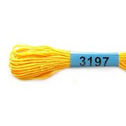 Мулине х/б 8 м Гамма, 3197 желтый