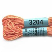 Мулине х/б 8 м Гамма, 3204 ярко-персиковый