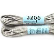 Мулине х/б 8 м Гамма, 3255 св.-серый
