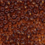 Бисер Preciosa Чехия (уп. 5 г) 10110 коричневый прозрачный