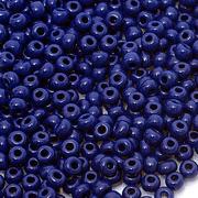 Бисер Preciosa Чехия (уп. 5 г) 33070 т.-синий