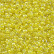 Бисер Preciosa Чехия (уп. 5 г) 38186 желтый прозрачный с цветным центром