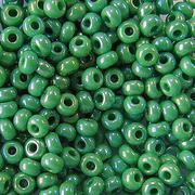 Бисер Preciosa Чехия (уп. 5 г) 54250 зеленый радужный