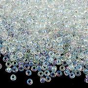Бисер Preciosa Чехия (уп. 5 г) 58205 белый прозрачный радужный