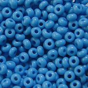Бисер Preciosa Чехия (уп. 5 г) 63050 т.-голубой