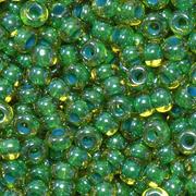 Бисер Preciosa Чехия (уп. 5 г) 81014 зеленый прозрачный