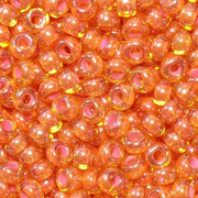 Бисер Preciosa Чехия (уп. 5 г) 81016 оранжевый прозрачный