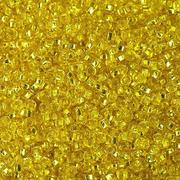 Бисер Preciosa Чехия (уп. 5 г) 87010 желтый с серебр. центром