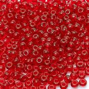 Бисер Preciosa Чехия (уп. 5 г) 90070 красный прозрачный