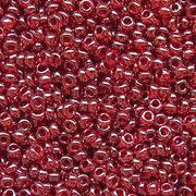Бисер Preciosa Чехия (уп. 5 г) 96090 бордовый прозрачный перламутровый